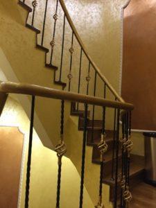 Balustrada inox colorat