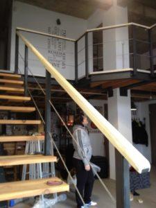 balustrada metalica cu cablu otel